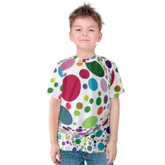 Color Ball Kids  Cotton Tee