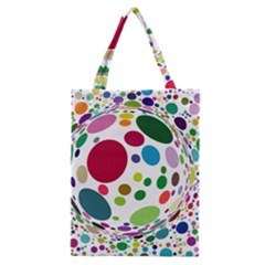 Color Ball Classic Tote Bag