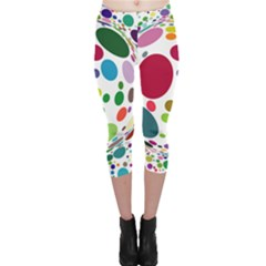 Color Ball Capri Leggings