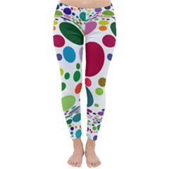 Color Ball Classic Winter Leggings by Mariart