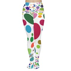 Color Ball Women s Tights by Mariart