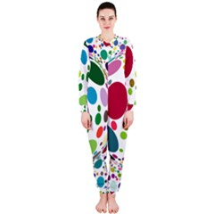 Color Ball Onepiece Jumpsuit (ladies)