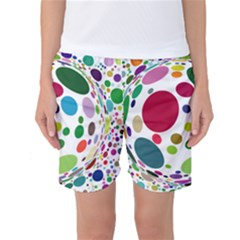 Color Ball Women s Basketball Shorts
