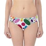Color Ball Hipster Bikini Bottoms