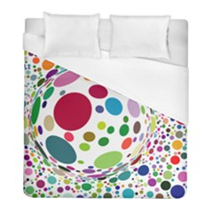 Color Ball Duvet Cover (full/ Double Size) by Mariart
