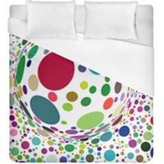 Color Ball Duvet Cover (king Size)