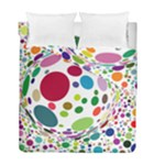 Color Ball Duvet Cover Double Side (Full/ Double Size)
