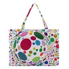 Color Ball Medium Tote Bag by Mariart