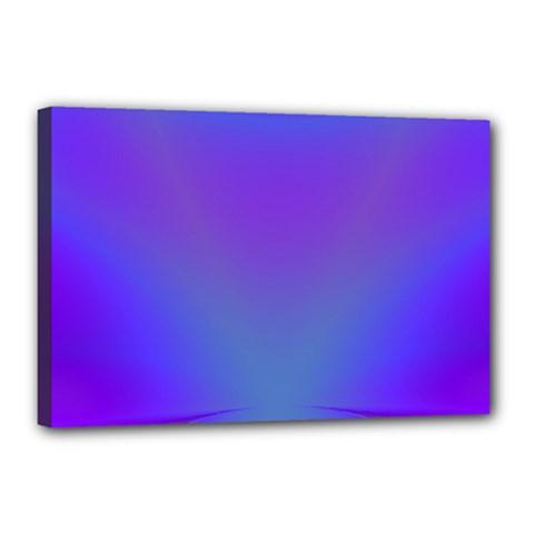 Violet Fractal Background Canvas 18  X 12  by Simbadda
