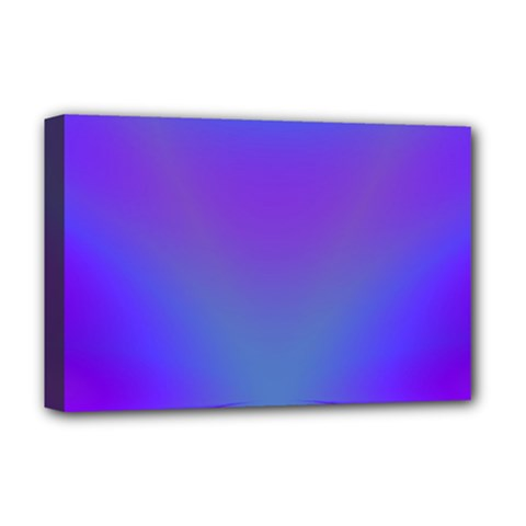 Violet Fractal Background Deluxe Canvas 18  X 12   by Simbadda