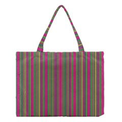 Lines Medium Tote Bag by Valentinaart