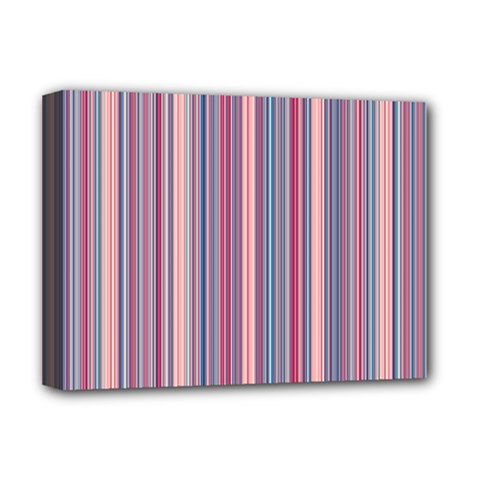 Lines Deluxe Canvas 16  X 12   by Valentinaart