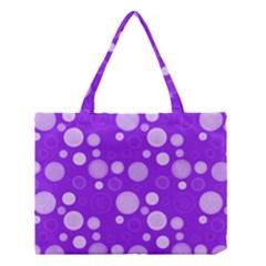 Polka Dots Medium Tote Bag by Valentinaart