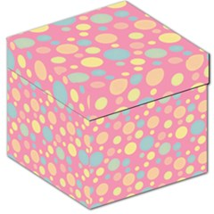 Polka Dots Storage Stool 12   by Valentinaart