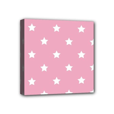 Stars Pattern Mini Canvas 4  X 4  by Valentinaart