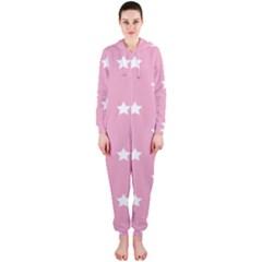 Stars Pattern Hooded Jumpsuit (ladies)  by Valentinaart