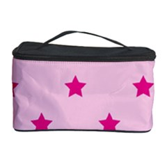 Stars Pattern Cosmetic Storage Case by Valentinaart