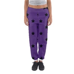 Stars Pattern Women s Jogger Sweatpants by Valentinaart