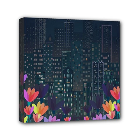 Urban Nature Mini Canvas 6  X 6  by Valentinaart