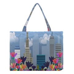 Urban Nature Medium Tote Bag by Valentinaart