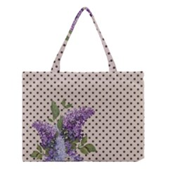 Vintage Lilac Medium Tote Bag by Valentinaart