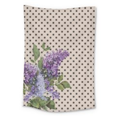 Vintage Lilac Large Tapestry by Valentinaart