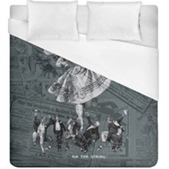 Bon Ton Duvet Cover (king Size) by Valentinaart