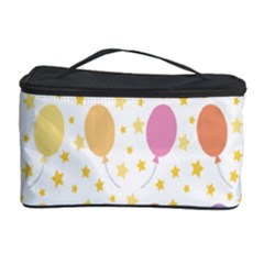 Balloon Star Rainbow Cosmetic Storage Case