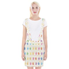Balloon Star Rainbow Suspender Skirt