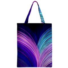 Color Purple Blue Pink Zipper Classic Tote Bag by Mariart