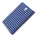 Horizontal Stripes Dark Blue Samsung Galaxy Tab S (8.4 ) Hardshell Case  View4