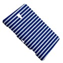 Horizontal Stripes Dark Blue Samsung Galaxy Tab S (8.4 ) Hardshell Case  View5