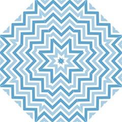 Zig Zags Pattern Straight Umbrellas by Valentinaart