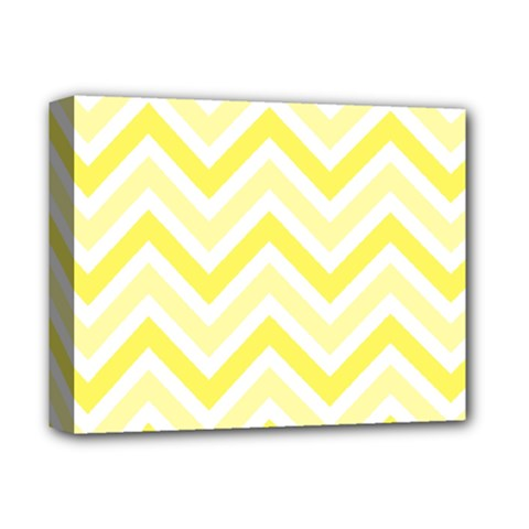 Zig Zags Pattern Deluxe Canvas 14  X 11  by Valentinaart