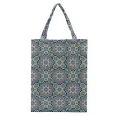 Decorative Ornamental Geometric Pattern Classic Tote Bag by TastefulDesigns