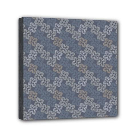 Decorative Ornamental Geometric Pattern Mini Canvas 6  X 6  by TastefulDesigns
