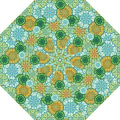 Forest Spirits  Green Mandalas  Straight Umbrella by bunart