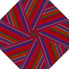 Color Stripes Pattern Hook Handle Umbrellas (medium) by Simbadda