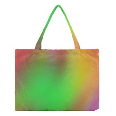 November Blurry Brilliant Colors Medium Tote Bag by Simbadda