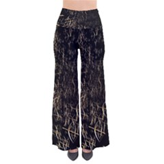 Golden Bows And Arrows On Black Pants