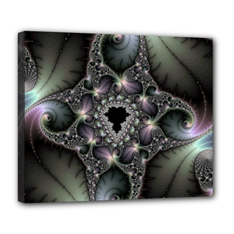 Magic Swirl Deluxe Canvas 24  X 20   by Simbadda