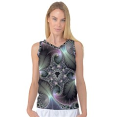 Precious Spiral Wallpaper Women s Basketball Tank Top