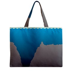 Mariana Trench Sea Beach Water Blue Zipper Mini Tote Bag by Mariart