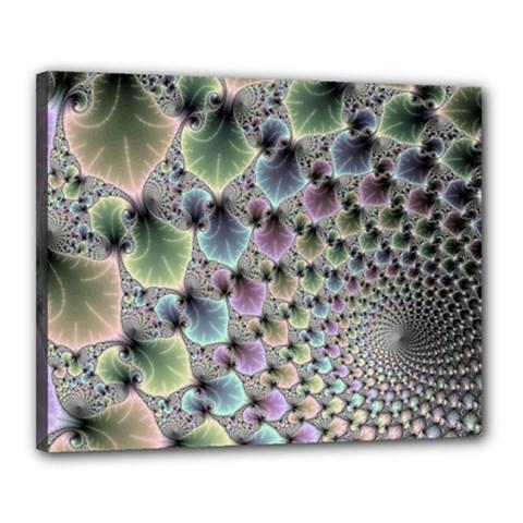 Beautiful Image Fractal Vortex Canvas 20  X 16  by Simbadda