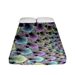 Beautiful Image Fractal Vortex Fitted Sheet (full/ Double Size) by Simbadda