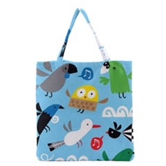 New Zealand Birds Close Fly Animals Grocery Tote Bag by Mariart