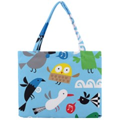 New Zealand Birds Close Fly Animals Mini Tote Bag by Mariart