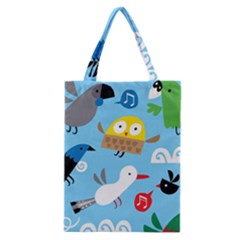 New Zealand Birds Close Fly Animals Classic Tote Bag by Mariart