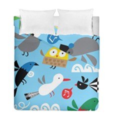 New Zealand Birds Close Fly Animals Duvet Cover Double Side (full/ Double Size)