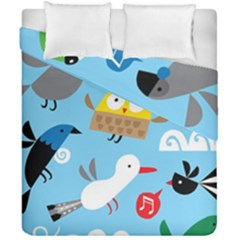 New Zealand Birds Close Fly Animals Duvet Cover Double Side (california King Size)
